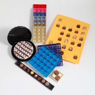 individuelle Verpackungen für Pralinen und Gebäck