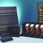 Faltcontainer aus leitfähigem Kunststoff