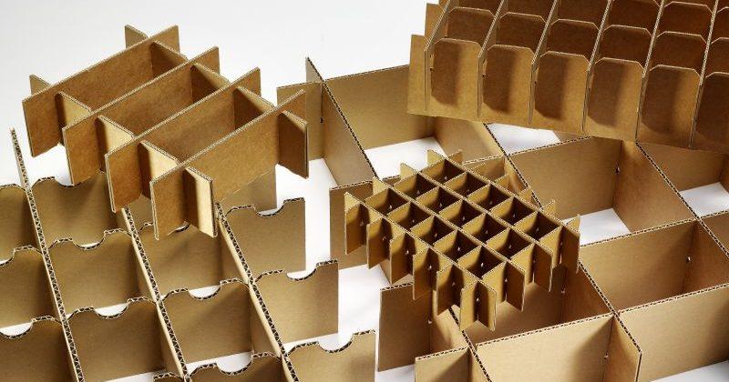 Gefacheeinsätze / Steckeinsätze aus Karton
