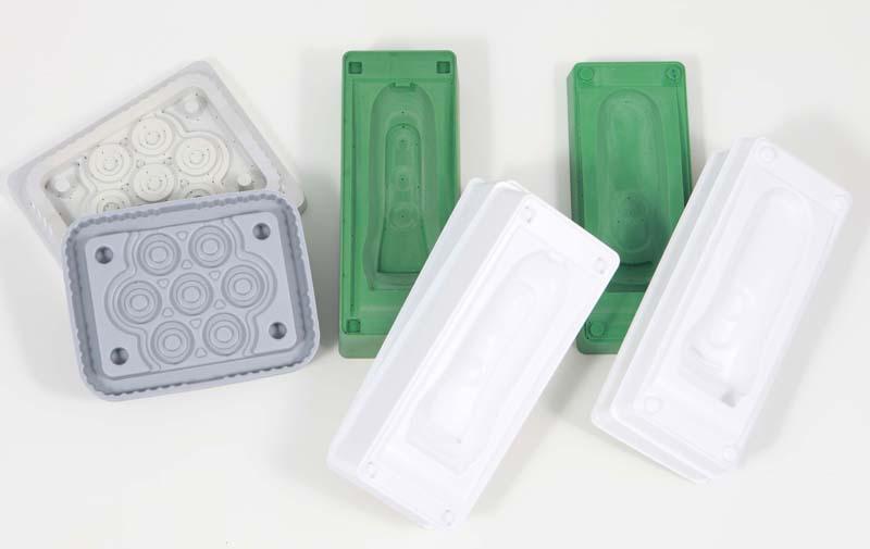 Kunststoffmodelle mit Tiefzieheinsatz