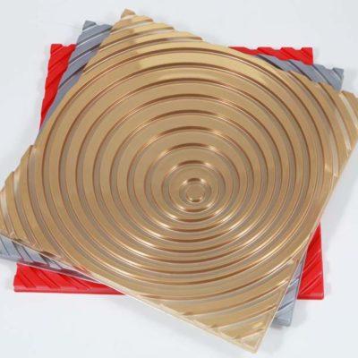 Thermoformteil für die Raumdekoration