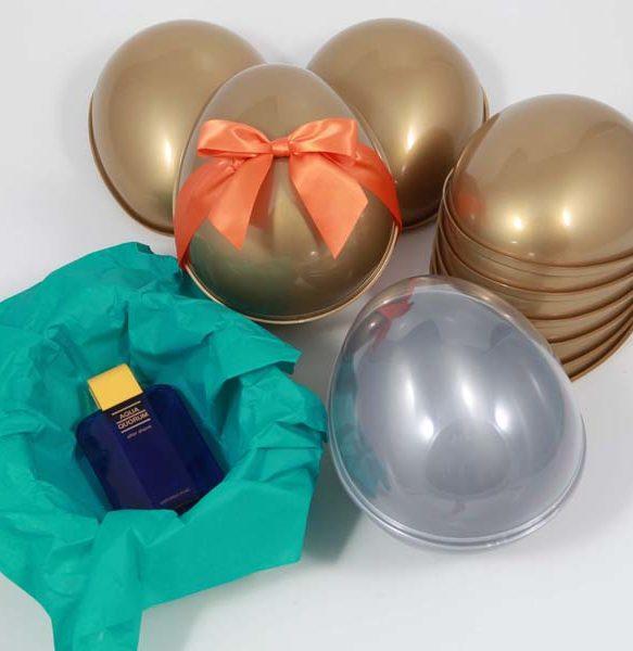 tiefgezogene Eierhalbschalen mit Verbundmechanismus