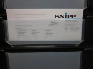 elektrisch leitfähige Etikettentasche, thermogeformt